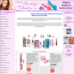 online shop design for adult sextoys and vibrator shop