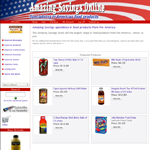 online shop design for food products