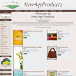 online shop design for New age products