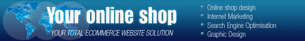 your online shop web designer